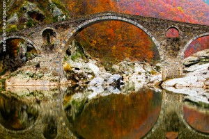 Devil's Bridge in Rhodope Mountains