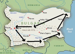 viaje ornitologico por Bulgaria