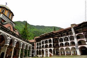 Patio-orthodoxen Kloster von Rila