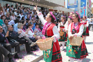 Parade of the Rose Festival Bulgaria