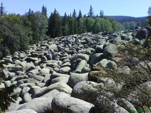 """""""Río de piedras"""" en montaña Vitosha"""