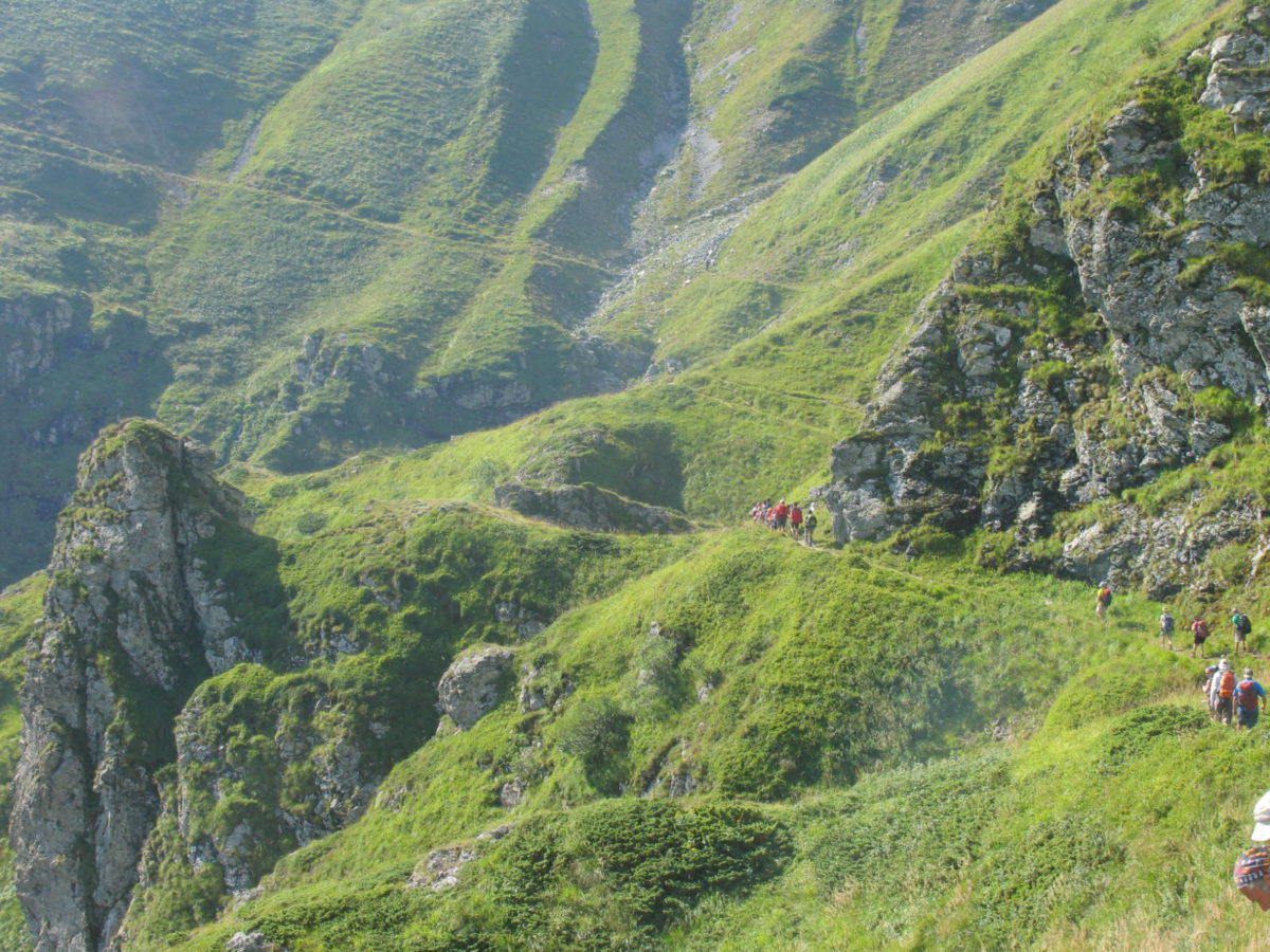 Guided trekking in high mountain Bulgaria (special for hiking club)