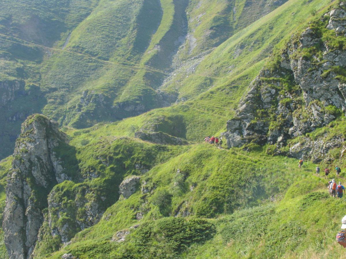 높은 산 불가리아에서 가이드 트레킹 (하이킹 클럽 전용)